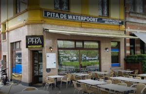 Halal restaurant Pita De Waterpoort, Antwerpen België halaltime.eu