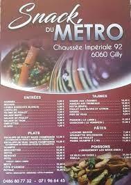 Snack du métro